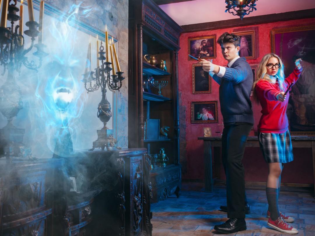 Únik z čarodějnické školy Magie a Kouzel